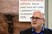 Odvolaný ředitel Moravského zemského muzea Martin Reissner.