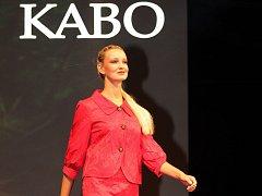 Mezinárodní veletrhy módy Styl a Kabo se konají na brněnském výstavišti. Snímek ze zkoušky.