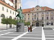 Návrhy sochy Jošta očima studentů.