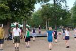 Lidé si v parku u Šelepky vyzkoušeli irské tance včetně stepu.