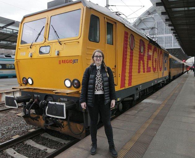 Redaktorka Deníku Rovnost Alžběta Nečasová testovala vlak RegioJetu.