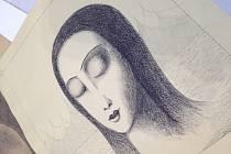 Tyto padělané obrazy českých mistrů prodával pár z Brna.