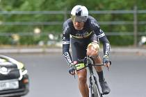 Medailové žně v Minsku nečekaly ani největší optimisté. Řídily je Brňané. Na snímku cyklista Jan Bárta.