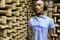 Vědci v Brně mají novou laboratoř. Zkoumat v ní budou ultratiché děje. V místnosti totiž není ozvěna.