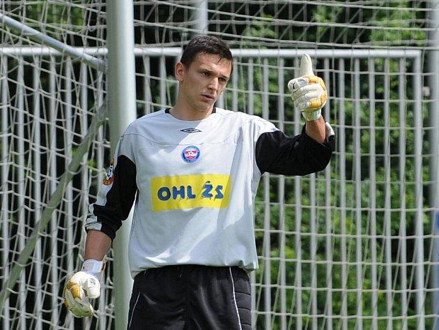 Gólman Igor Luketič.