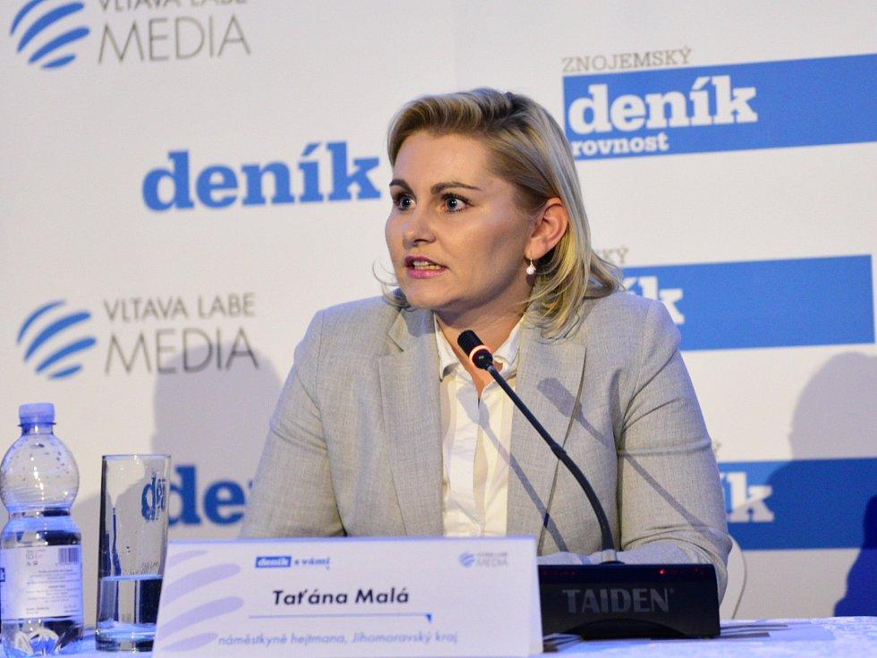 Náměstkyně jihomoravského hejtmana Taťána Malá.