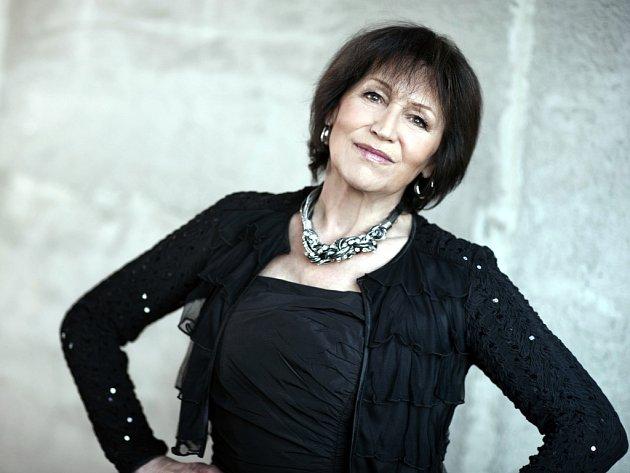 Zpěvačka Marta Kubišová.