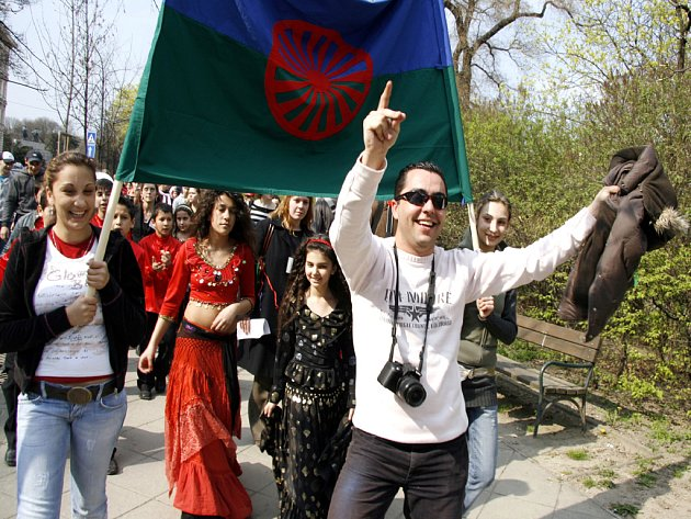 Romové oslavili svůj svátek.