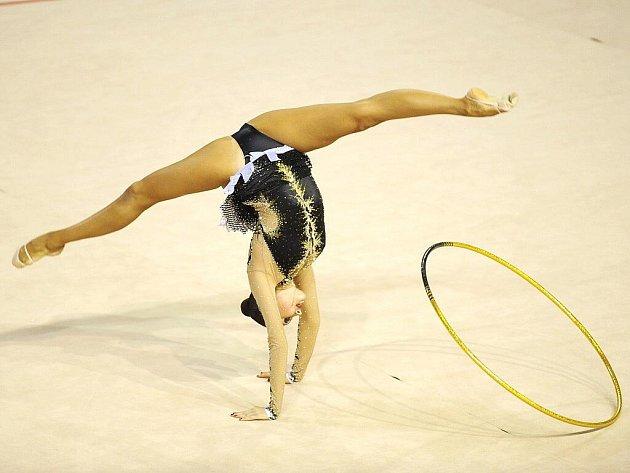 Grand Prix v moderní gymnastice.