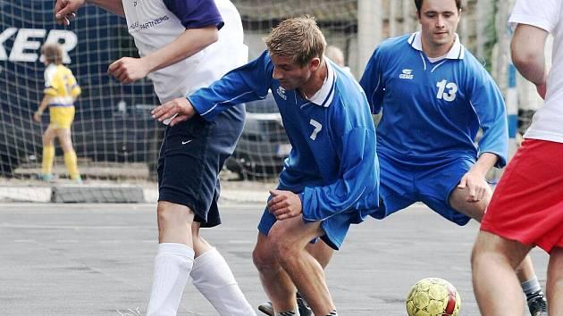 Futsalový turnaj Saňař Cup v Sokolnicích.