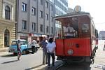 Oslavy 150 let brněnské městské hromadné dopravy.