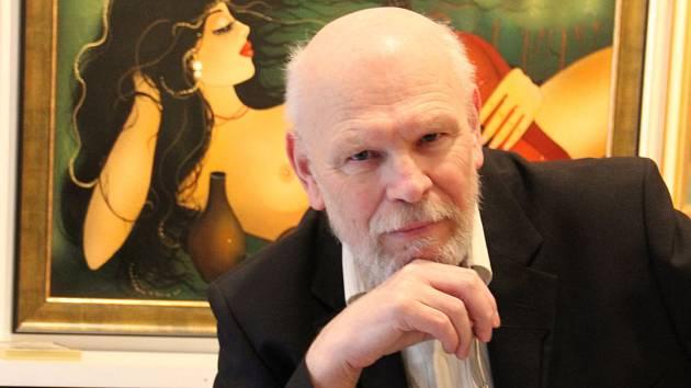 Brněnský spisovatel a publicista Jan Antonín Krystek.