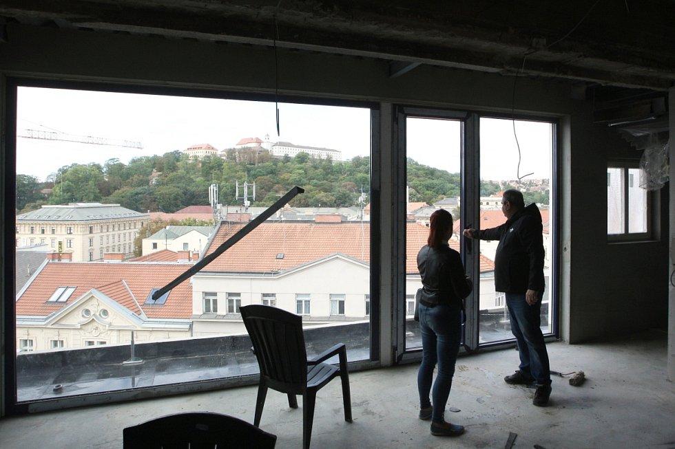 Rekonstrukce brněnského hotelu Avion.