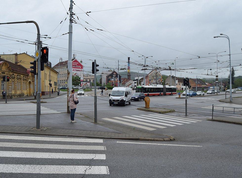 Tomkovo náměstí v Brně.