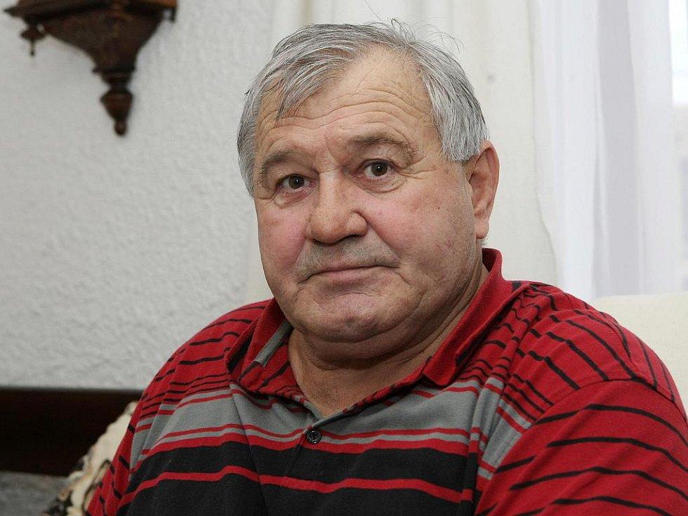 Reprezentační kapitán Jaroslav Konečný.