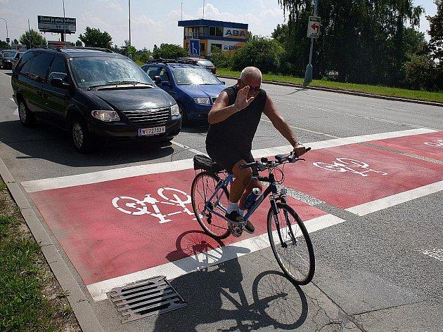 Cyklopruh v Brně.