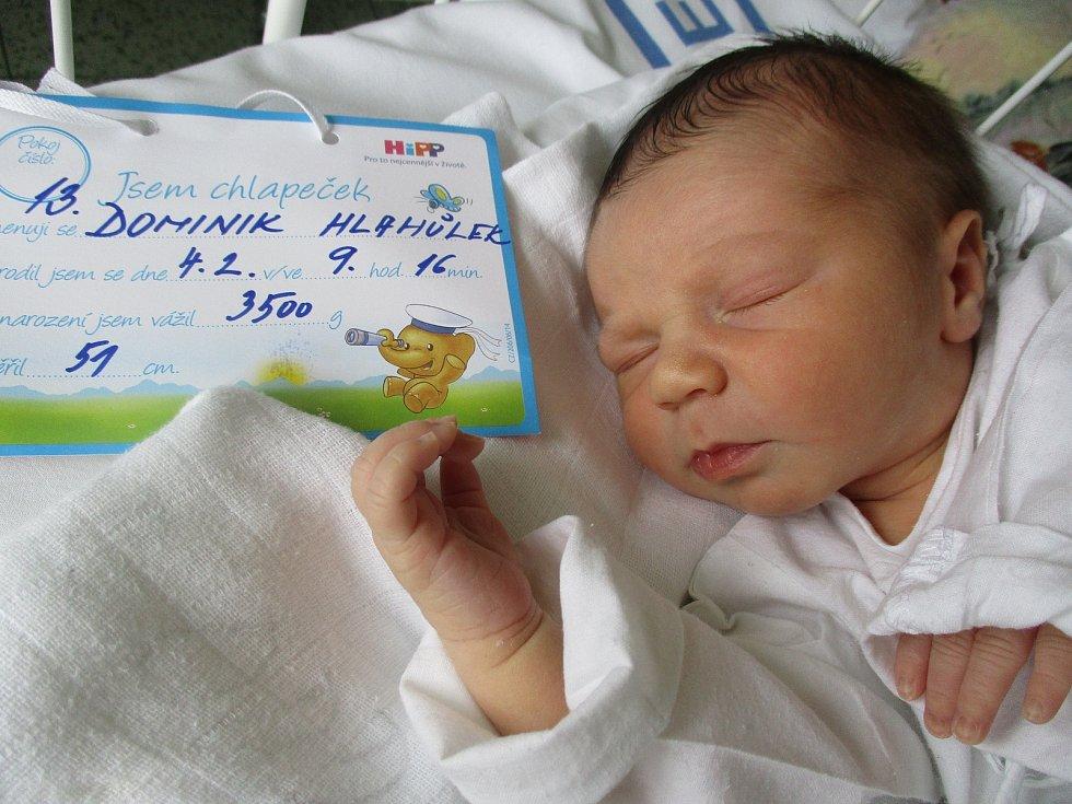 Dominik Hlahůlek, 4. 2. 2021, Lipov, Nemocnice Břeclav, 3500 g, 51 cm
