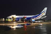 První nákladní letadlo přiletělo v pondělí ráno na nové lince DHL Express na brněnské letiště.