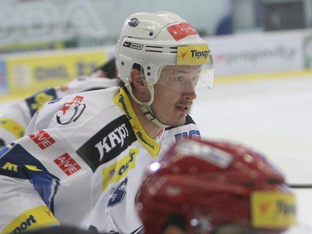 Hokejový obránce Petr Kuboš.
