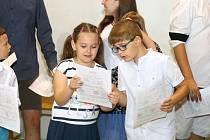 Brno 28.6.2019 - Předávání vysvědčení v ZŠ Jasanová v Brně