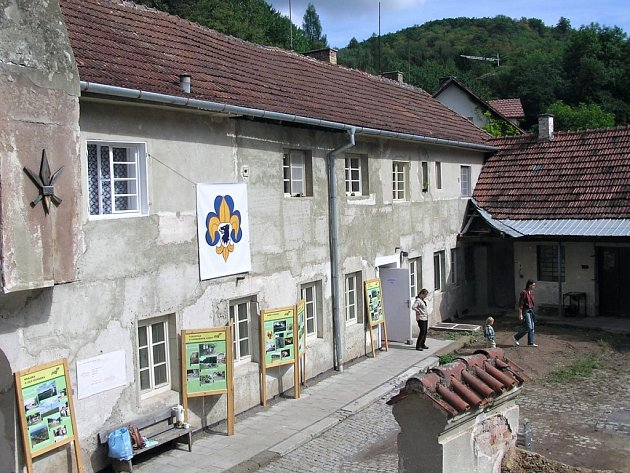 Kaprálův mlýn v Ochozi u Brna.