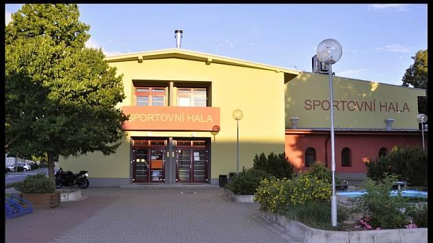 Sportovní hala v Pohořelicích.
