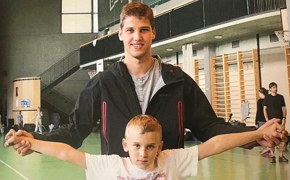 Šermíř Marek Totušek se poprvé potkal s idolem a kamarádem Alexanderem Choupenitchem ve svých osmi letech.