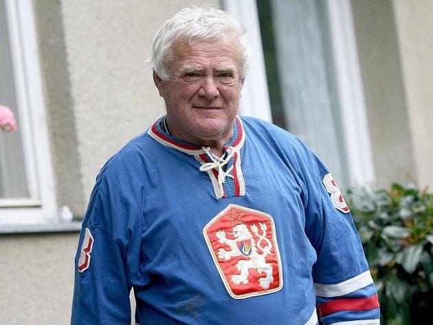 Bývalý hokejový reprezentant František Ševčík.