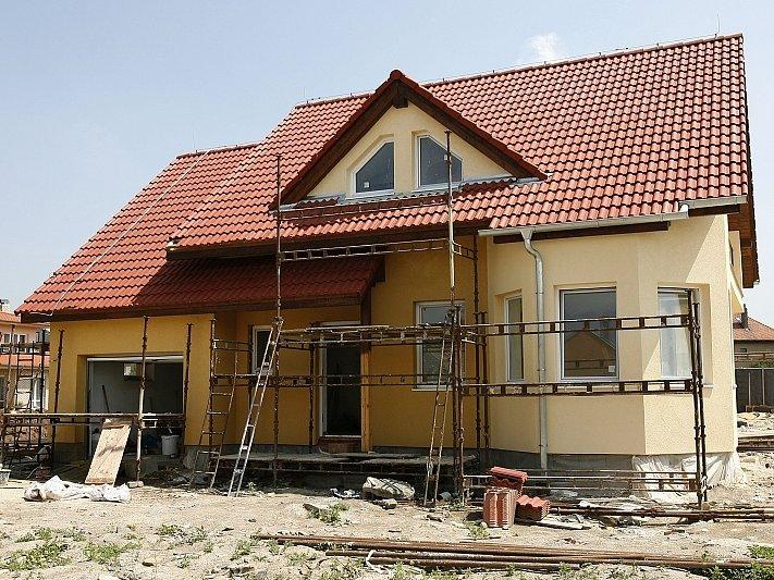 Stavba rodinného domku