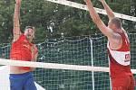 Plážoví volejbalisté odehráli Český pohár v areálu Sokolského koupaliště na Brněnské přehradě.