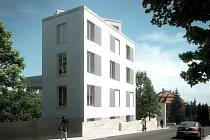 Po dokončení bude dům vypadat takto.