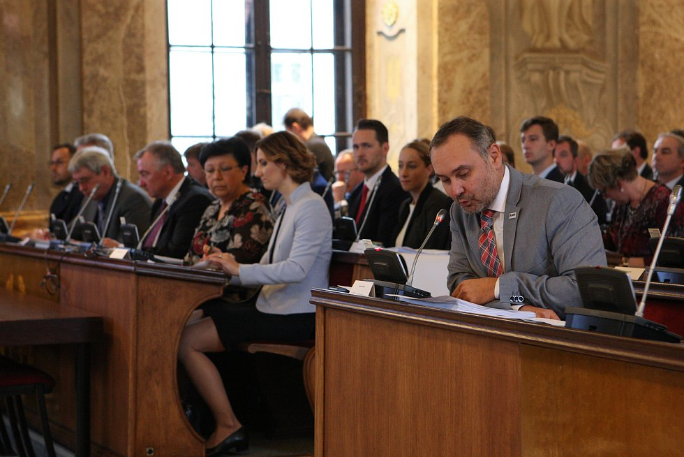 Ustavující zasedání nového brněnského zastupitelstva.