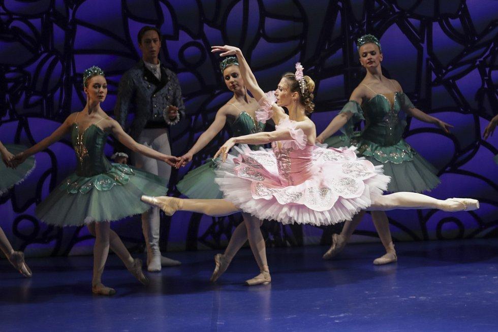 Balet v Národním divadle Brno.