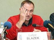 Lubor Blažek, trenér vicemistryň světa.