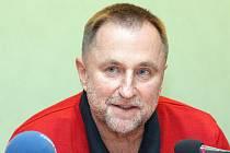 Reprezentační trenér Lubor Blažek.