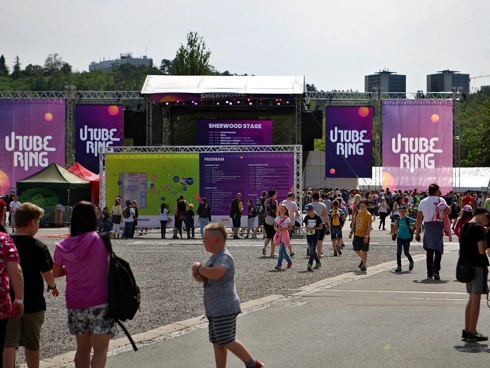 Na brněnském výstavišti se konal festival Utubering.