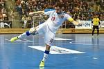 Kvalifikační turnaj na futsalové MS 2020 - ČR Michal Seidler (bílá) Kazachstán (modrá)