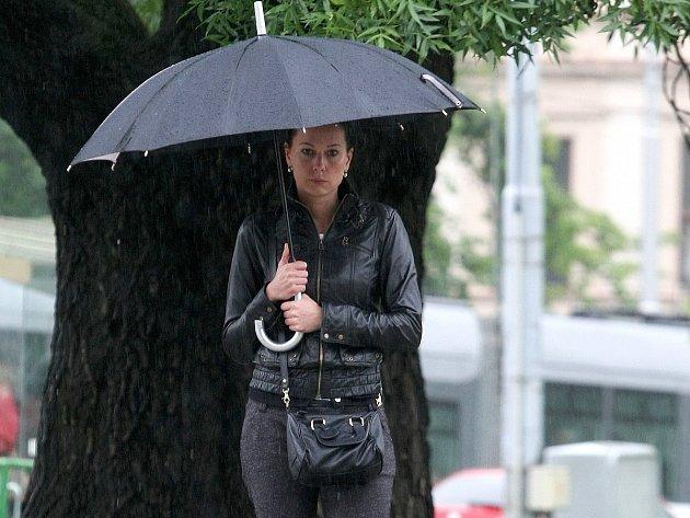 Déšť a mraky vydrží na jihu Moravy ještě několik dní.