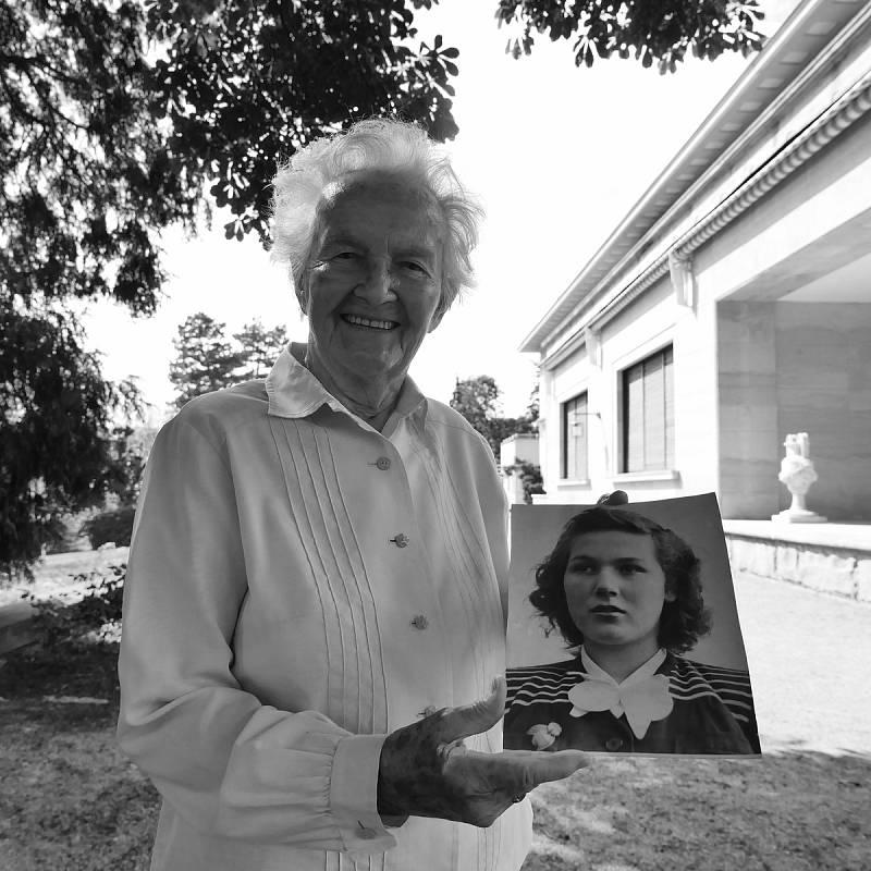 Pamětnice Marie Straková.