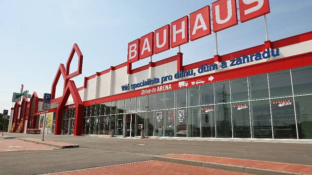 Hobbymarket Bauhaus v brněnských Ivanovicích.