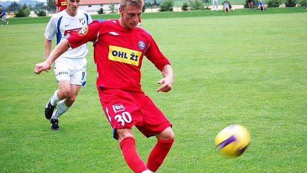 Fotbalisté 1. FC Brno vyhráli nad 1. HFK Olomouc 2:0.