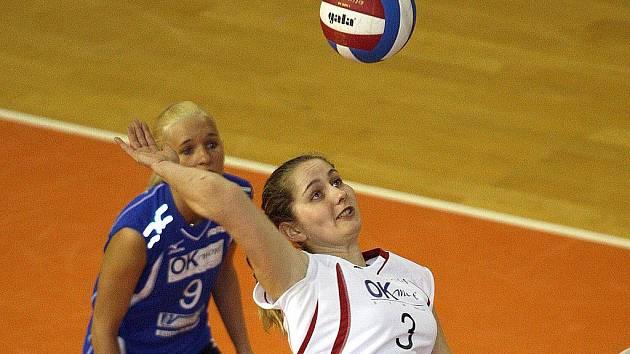 Brněnská volejbalistka Sandra Onderková.