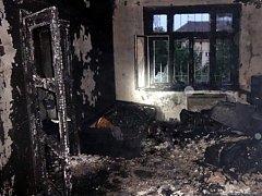 Lidský život si v září vyžádal požár bytu v Merhautově ulici poblíž centra Brna.