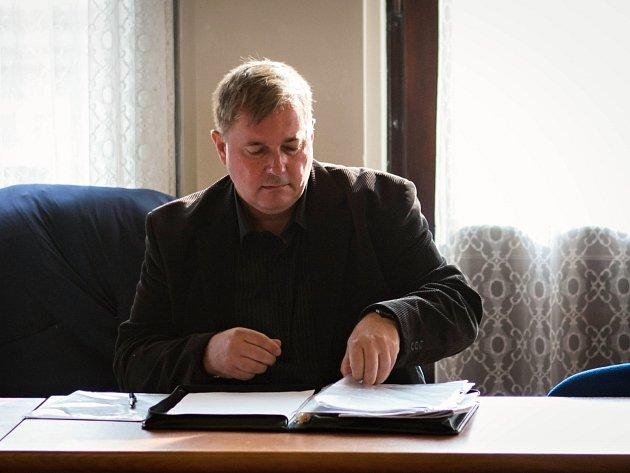Krajský soud v Brně s obžalovaným Pavlem Fojtíkem a spol.