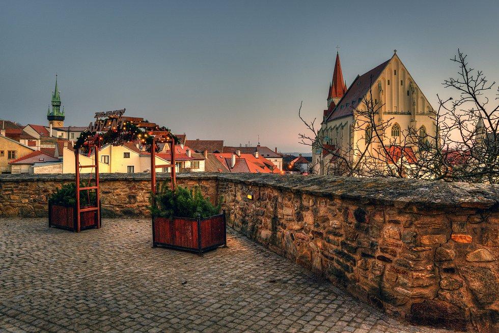 Město Znojmo.