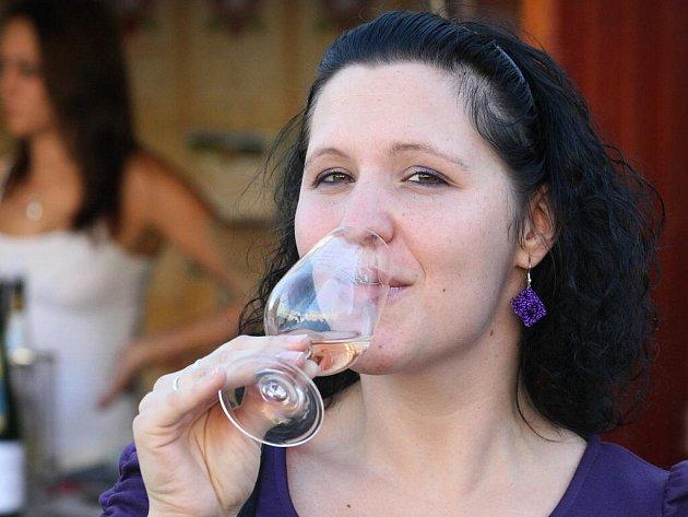 Slavnosti vína na náměstí Svobody v Brně.