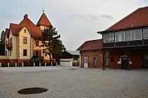 Centrum Želešic s Viktorkou.
