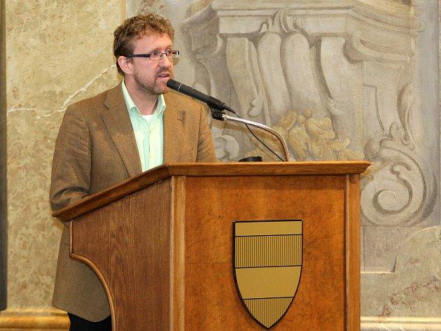 Náměstek brněnského primátora Martin Ander.