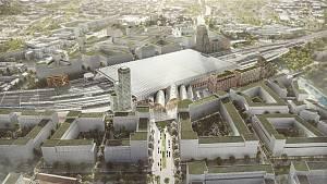 Architektonická soutěž na podobu nového hlavního vlakového nádraží v Brně.