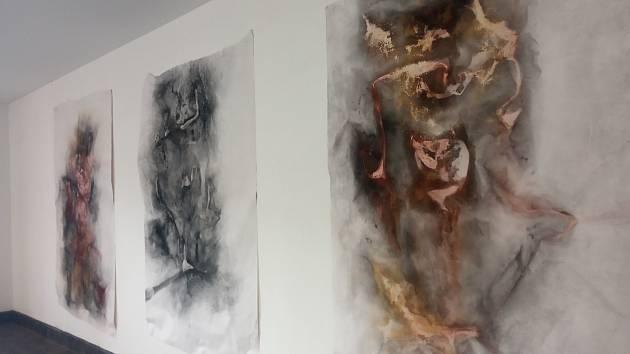 Galerie Průchod: umělec vystavil svá díla na rohu brněnských ulic